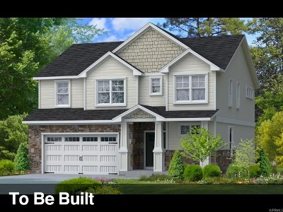 West Jordan Single Family Home For Sale: 2862 W Nairn Way S #35