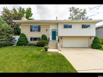 Cottonwood Heights Single Family Home For Sale: 7211 S Cypress Way