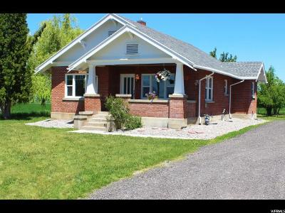 Cache County Single Family Home For Sale: 933 W 100 N
