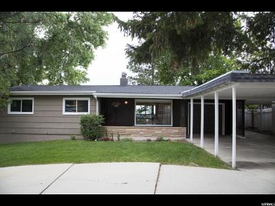 Salt Lake City Single Family Home For Sale: 4058 S Diana Way