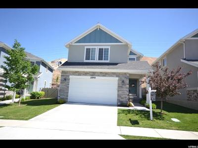 Lehi Single Family Home For Sale: 2848 W Bear Rdg