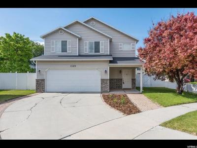 Orem Single Family Home For Sale: 1509 W 550 S