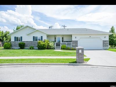 Smithfield Single Family Home For Sale: 54 E 520 N