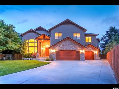Cottonwood Heights Single Family Home For Sale: 6951 S Pine Mountain Dr