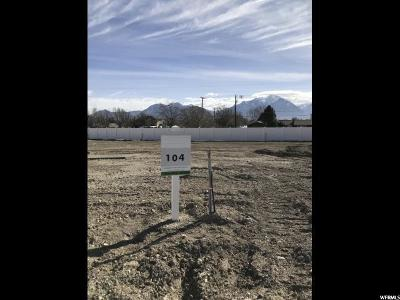 South Jordan Residential Lots & Land For Sale: 9497 S Hunter Bend Court W