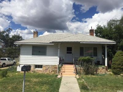 East Carbon Single Family Home For Sale: 53 W 100 N