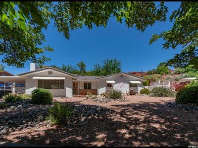 St. George Single Family Home For Sale: 288 Diagonal