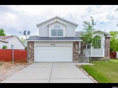 West Valley City Single Family Home For Sale: 6382 S Laurel Canyon Dr