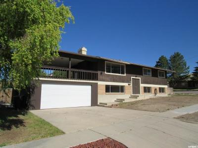 Price UT Single Family Home For Sale: $210,000