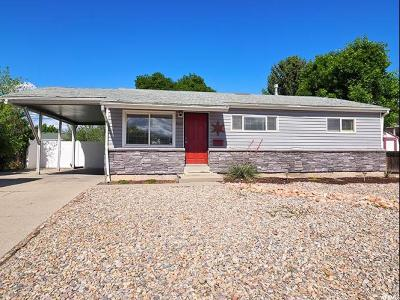 Taylorsville Single Family Home For Sale: 4920 S 4015 W