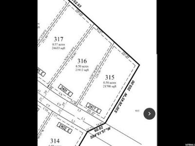 Eagle Mountain Residential Lots & Land For Sale: 2417 E Patriot (#315) Dr