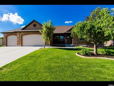 South Jordan Single Family Home For Sale: 3024 W Crystal Palace