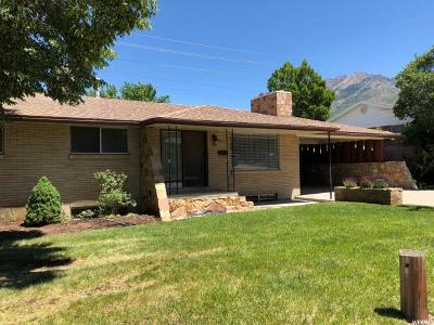 Cottonwood Heights Single Family Home For Sale: 2417 E Sundown Ave