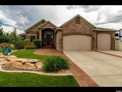 West Jordan Single Family Home For Sale: 5059 W 8180 S