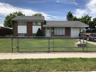 Taylorsville Single Family Home For Sale: 1613 W 4300 S