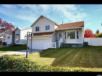 West Jordan Single Family Home For Sale: 3061 W 8565 S