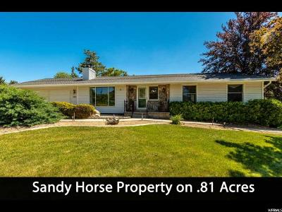 Sandy Single Family Home For Sale: 10874 S Bay Meadow Cir