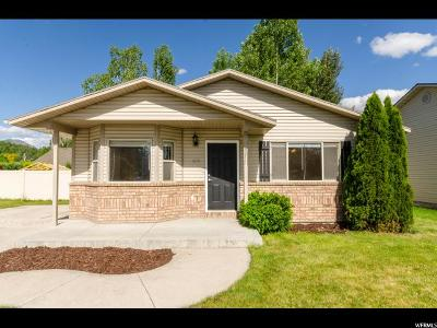 Logan Single Family Home For Sale: 818 S Riverwood Dr W