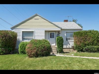 Midvale Single Family Home For Sale: 188 W Wasatch St S