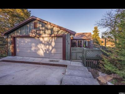 Park City Single Family Home For Sale: 135 N Crestview Ter