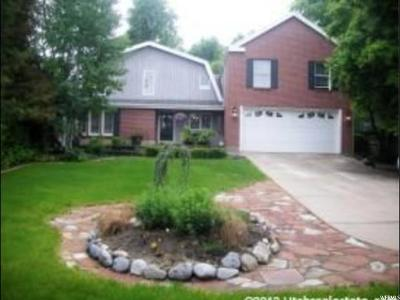 Cottonwood Heights Single Family Home For Sale: 7683 S Winterdale Cir