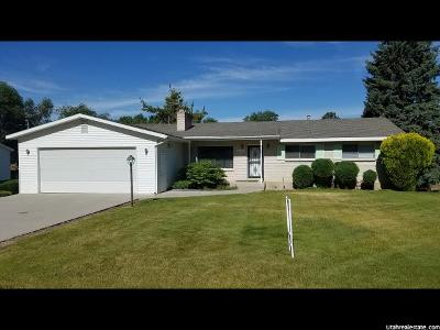 Honeyville UT Single Family Home For Sale: $250,000