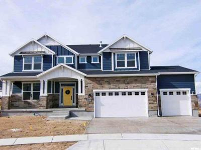 Draper Single Family Home For Sale: 514 E Ports Cv S