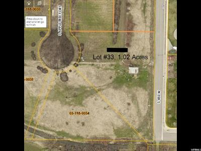 Nibley Residential Lots & Land For Sale: 470 W 3350 S