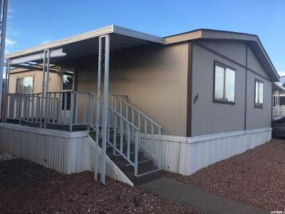 St. George Single Family Home For Sale: 1450 N Dixie #151