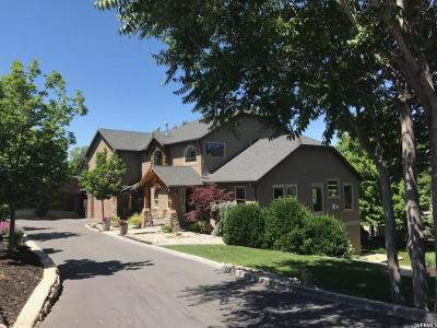 Cottonwood Heights Single Family Home For Sale: 7420 S Butler Hills Dr E