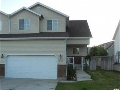 Santaquin Single Family Home For Sale: 663 E 180 N