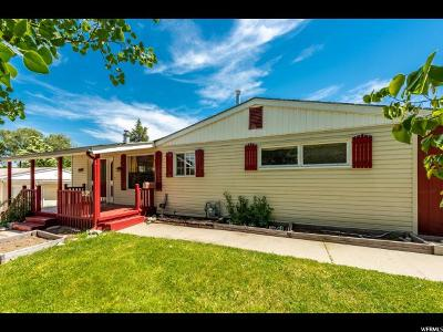 Cottonwood Heights Single Family Home For Sale: 6851 S Village Green Rd E