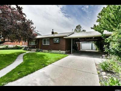 Provo Single Family Home For Sale: 1260 E 300 S