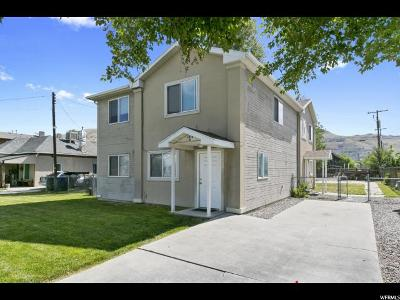 Salt Lake City Multi Family Home For Sale: 1010 N Victoria Way W