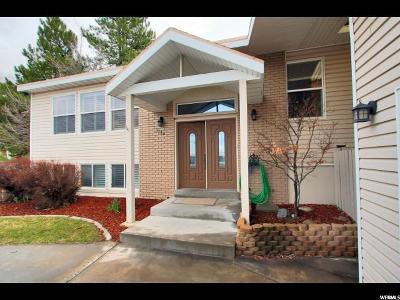 Holladay Single Family Home For Sale: 3184 E Wasatch Oaks Cir