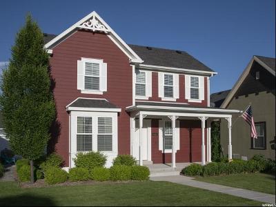 South Jordan Single Family Home For Sale: 4616 W Chenango Ln