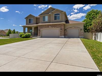 West Jordan Single Family Home For Sale: 9094 S Crescent Mine Ln W