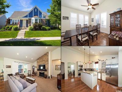 South Jordan Single Family Home For Sale: 4389 W Iron Mountain Dr