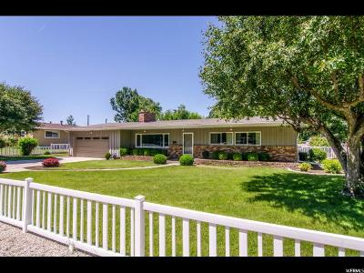 Holladay Single Family Home For Sale: 5684 S Oakdale Dr E