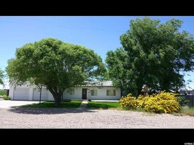 Delta Single Family Home For Sale: 605 N 500 W