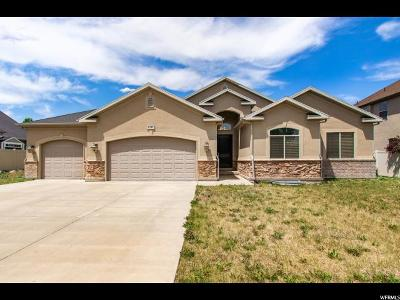 West Jordan Single Family Home For Sale: 6342 W Copper Cloud Ln