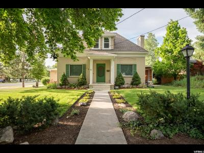 Smithfield Single Family Home For Sale: 93 W 200 N