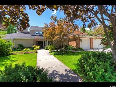 Salt Lake City Single Family Home For Sale: 1735 E Fort Douglas Cir