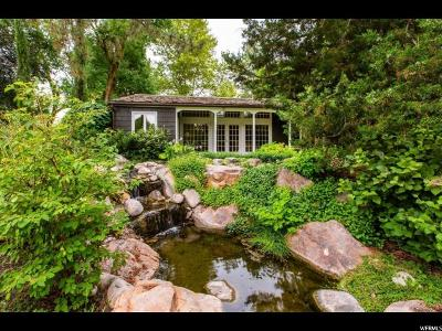 Holladay Single Family Home For Sale: 5019 S Cottonwood Ln