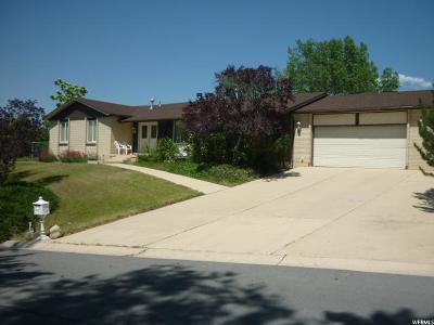 Sandy Single Family Home For Sale: 9185 S Creponette Dr