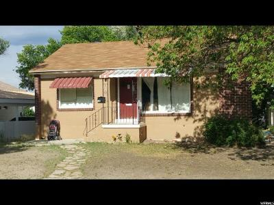 Price UT Single Family Home For Sale: $96,000