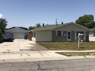 Taylorsville Single Family Home For Sale: 5054 S Rocky Rd