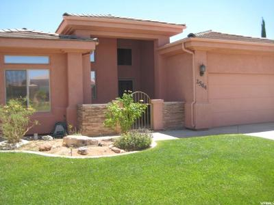 St. George Single Family Home For Sale: 2564 E 90 S