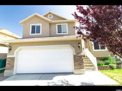 Lehi Single Family Home For Sale: 1893 W Pointe Meadow Loop #819