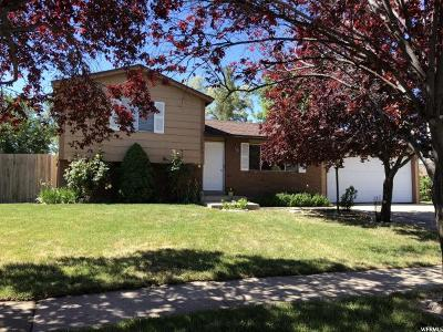 Layton Single Family Home For Sale: 1491 W 1150 N